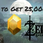 How to Get 25,000 Rupees/Hour | Zelda: Breath of the Wild